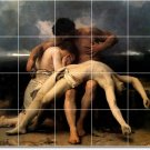 Bouguereau Religious Mural Kitchen Backsplash Tile Renovate Ideas