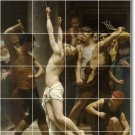 Bouguereau Religious Mural Kitchen Tile Backsplash Ideas Renovate