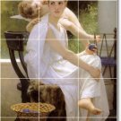 Bouguereau Angels Tiles Room Dining Design Home Construction Idea