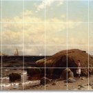 Bricher Waterfront Room Mural Tile Dining Home Modern Renovate