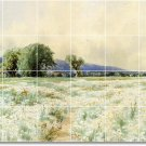 Bricher Country Dining Wall Wall Room Mural Remodel Ideas House