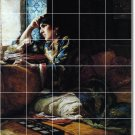 Bridgman Women Tile Murals Wall Kitchen Remodeling Idea Interior
