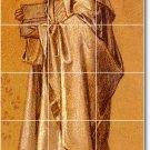 Burne-Jones Illustration Wall Tile Shower Mural Remodeling