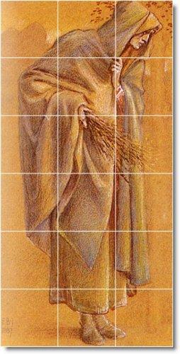 Burne-Jones Illustration Room Tiles Wall Mural Floor Decor