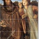 Burne-Jones Historical Murals Living Floor Room Remodel Design