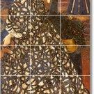 Burne-Jones Women Murals Room Living Wall Traditional Renovations