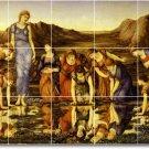 Burne-Jones Mythology Bedroom Wall Tile Murals Design Renovate