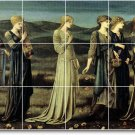 Burne-Jones Mythology Floor Mural Room Contemporary Remodeling