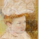 Cassatt Women Dining Mural Room Tiles Ideas Remodel Residential