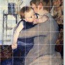 Cassatt Mother Child Tiles Wall Shower Renovations Ideas Interior