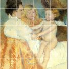 Cassatt Mother Child Mural Tiles Room Floor House Decorating Idea