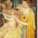 Cassatt Mother Child Mural Tiles Floor Room House Idea Decorating