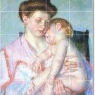 Cassatt Mother Child Kitchen Murals Floor Wall Home Design Modern