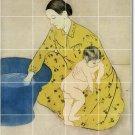 Cassatt Mother Child Shower Murals Wall Tile Decor Interior Decor