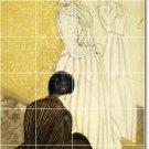 Cassatt Women Mural Shower Wall Tiles Interior Idea Renovations