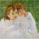 Cassatt Children Wall Tile Bedroom Murals Decor Decor Interior