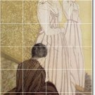 Cassatt Women Murals Room Wall Tile Renovate House Contemporary