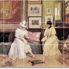Chase Women Wall Room Murals Tile Dining Renovations Traditional