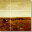 Chase Country Living Mural Tiles Wall Room Contemporary Remodel