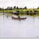 Chase Waterfront Dining Room Wall Mural Tile Remodeling Modern