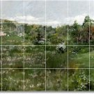 Chase Landscapes Tile Wall Room Mural Dining Decor Floor Decor