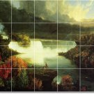 Cole Waterfalls Shower Wall Tile Mural Ideas Interior Renovate