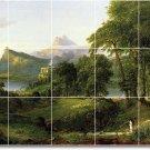 Cole Landscapes Backsplash Mural Tile Decorating Interior Idea