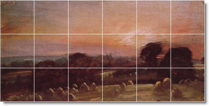 Constable Country Wall Bedroom Mural Idea Home Design Remodeling