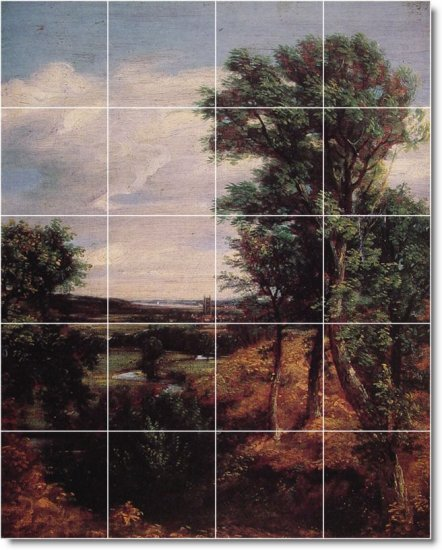 Constable Country Wall Tile Dining Room Construction Ideas House