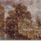 Constable Country Shower Tile Mural Wall Renovate Ideas Interior
