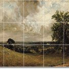 Constable Country Murals Tile Wall Room Modern Decorate Interior