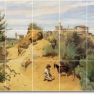 Corot Country Backsplash Murals Wall Wall House Idea Remodeling