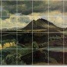 Corot Landscapes Shower Tile Mural Ideas Construction Interior