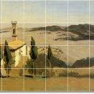 Corot Landscapes Wall Murals Tile Shower Modern Renovate House