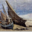 Courbet Ships Bedroom Mural Tiles Contemporary Home Renovations