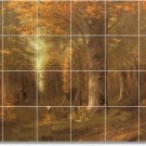 Courbet Country Wall Shower Murals Tile Bathroom Remodel House