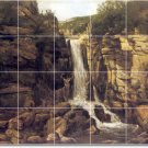 Courbet Waterfalls Mural Kitchen Tiles Residential Remodeling