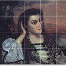 Courbet Women Mural Tiles Bedroom Home Renovations Contemporary