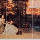 Courbet Women Mural Shower Tile Bathroom Remodeling House Ideas