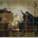 Couture Historical Dining Mural Tile Room Home Modern Remodel
