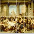 Couture Historical Room Tile Dining Mural Remodel Home Modern