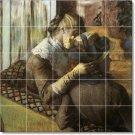Degas Women Wall Mural Tiles Kitchen Decorate Home Construction