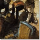 Degas Women Mural Mural Room Wall Tiles Modern House Decorating