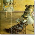 Degas Dancers Backsplash Wall Kitchen Murals Construction Ideas