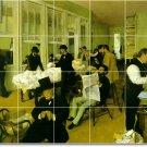 Degas People Shower Wall Murals Tile Design Remodeling Interior