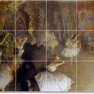 Degas Dancers Tiles Bedroom Mural Renovations Contemporary Home