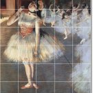 Degas Dancers Tiles Mural Bedroom Renovations Home Contemporary