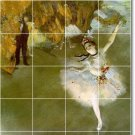 Degas Dancers Mural Bathroom Tile Shower House Remodeling Ideas