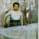 Degas Women Bathroom Tile Wall Murals Construction Design House