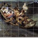 Delacroix Religious Mural Room Tile Ideas Commercial Renovations